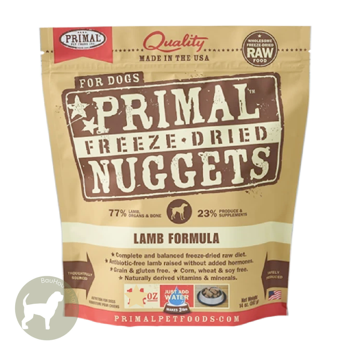 Primal Pet Foods Primal Pet Foods Freeze Dried Formula Lamb, 14oz