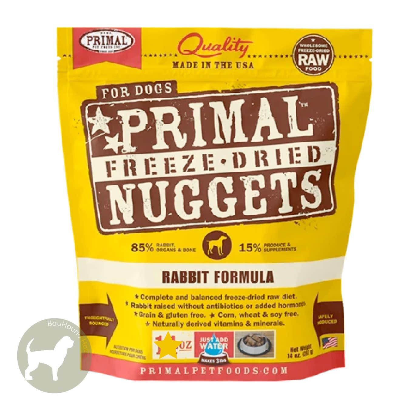 Primal Pet Foods Primal Pet Foods Freeze Dried Formula Rabbit, 14oz