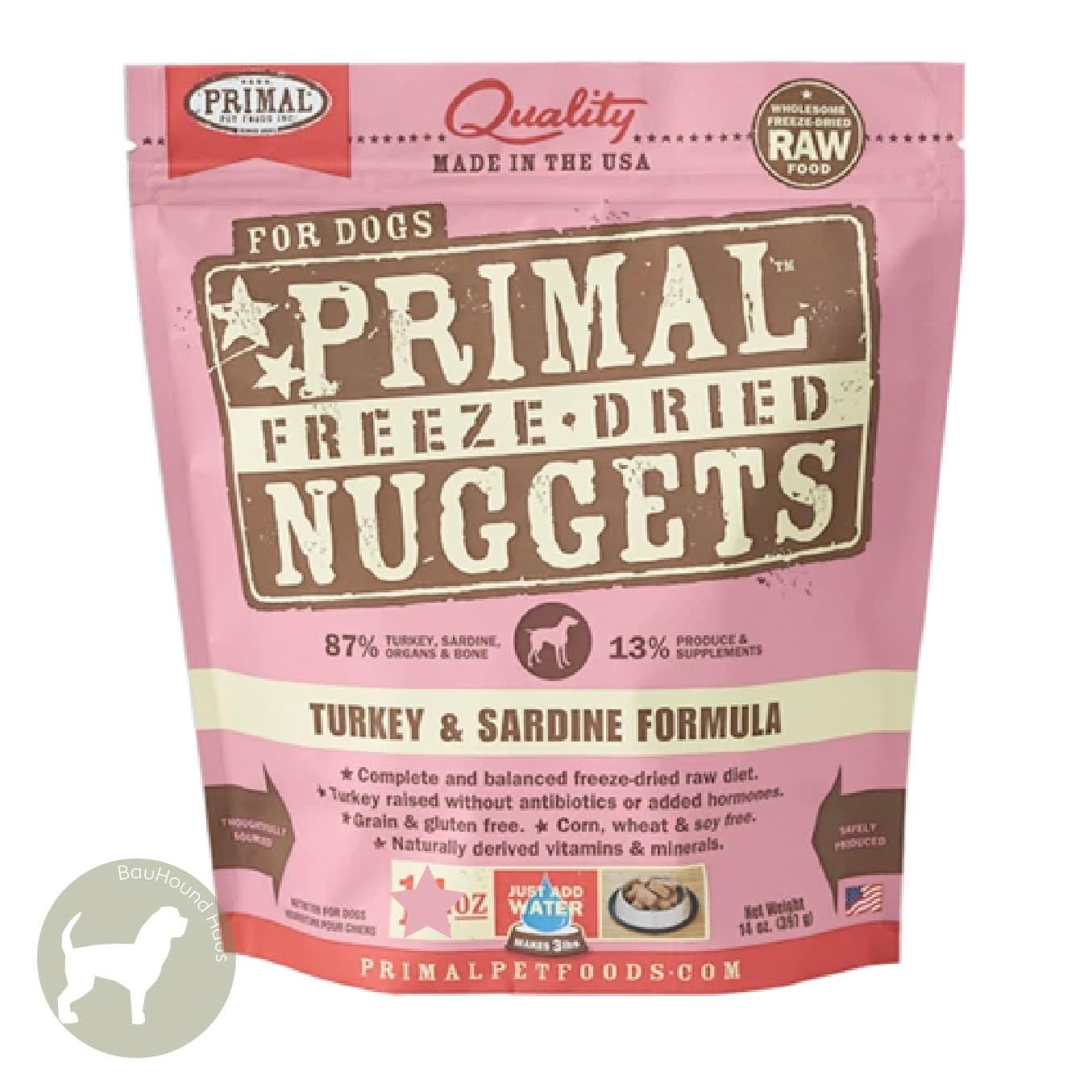 Primal Pet Foods Primal Pet Foods Freeze Dried Formula Turkey & Sardine, 14oz
