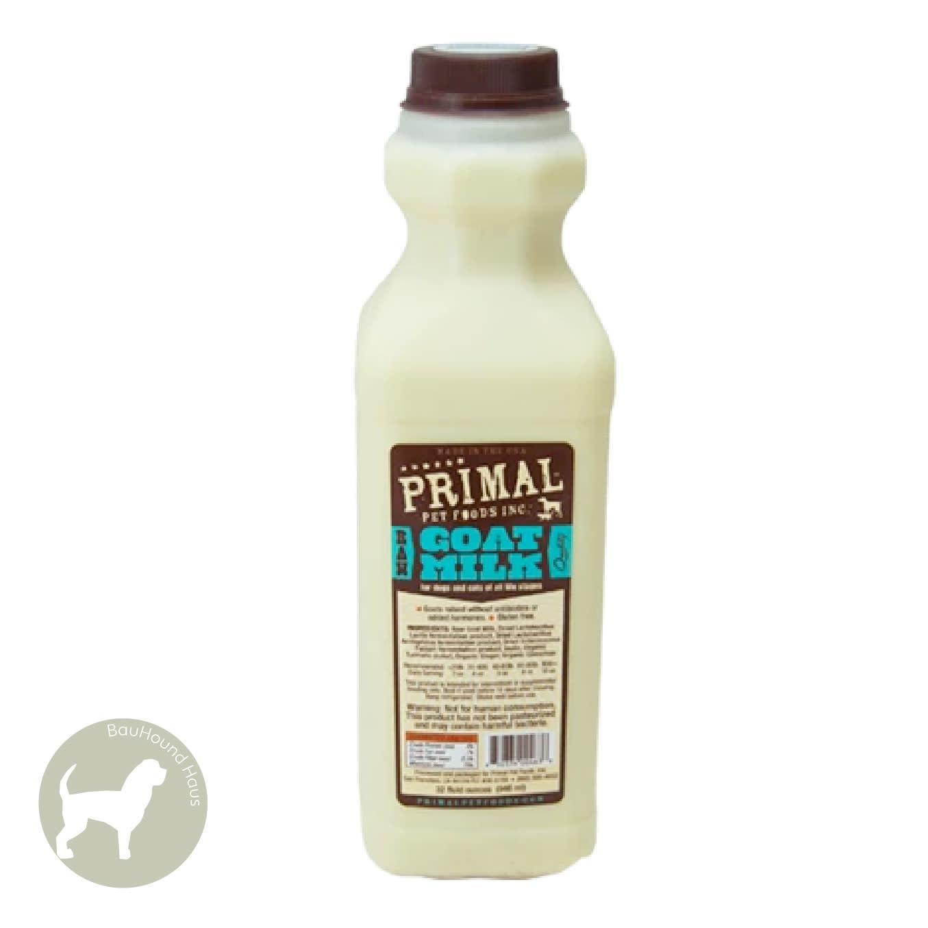 Primal Pet Foods Primal Pet Foods Frozen RAW Goatsmilk, 1L