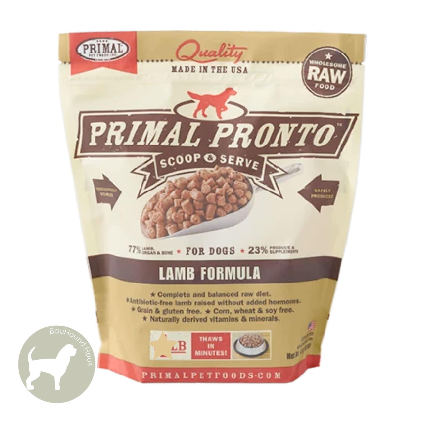 Primal Pet Foods Primal Pet Foods Pronto Canine Lamb Formula, 4lb