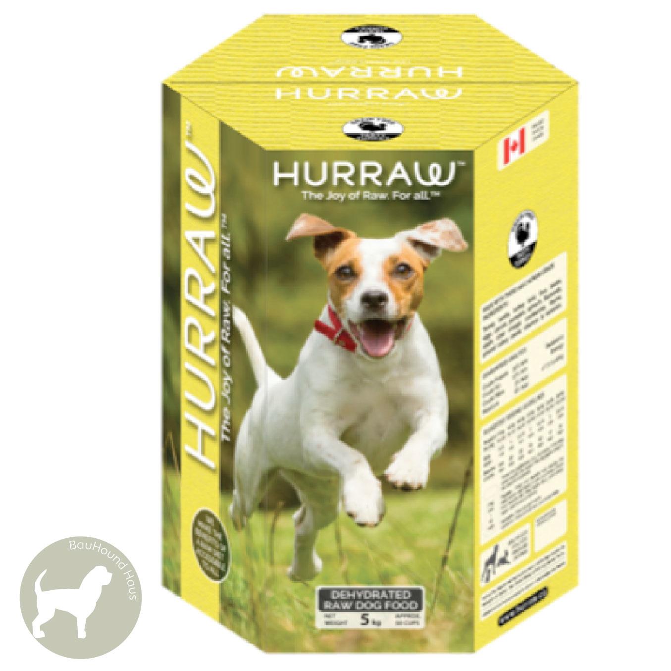 Hurraw Hurraw Dehydrated Raw Dog Food Tasty Turkey, 2.5kg