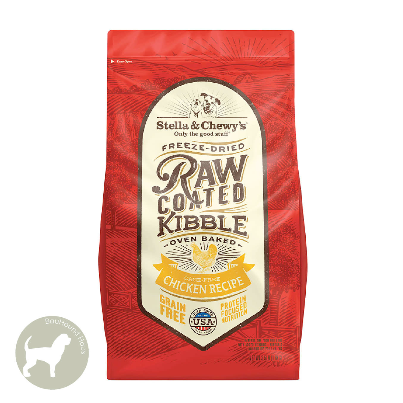 Stella & Chewy's Stella & Chewy's Freeze Dried Raw Coated Kibble Chicken Recipe 3.5lb