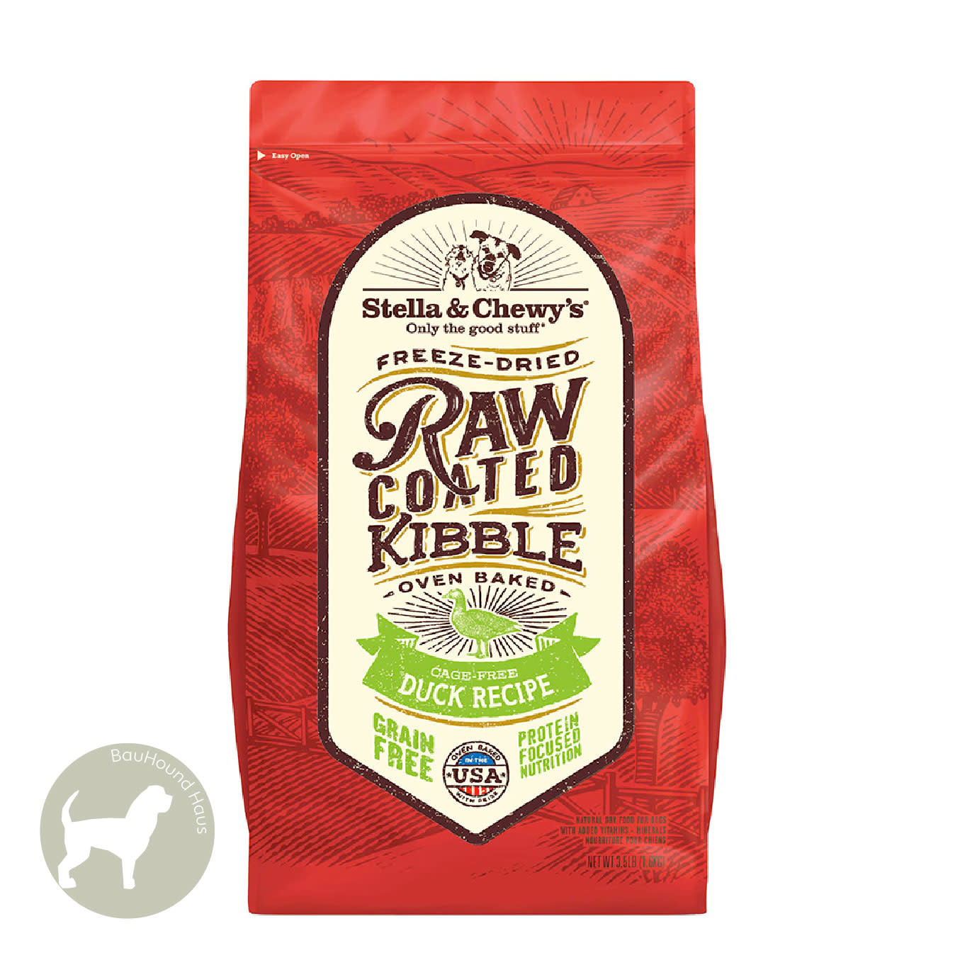 Stella & Chewy's Stella & Chewy's Freeze Dried Raw Coated Kibble Duck Recipe 3.5lb