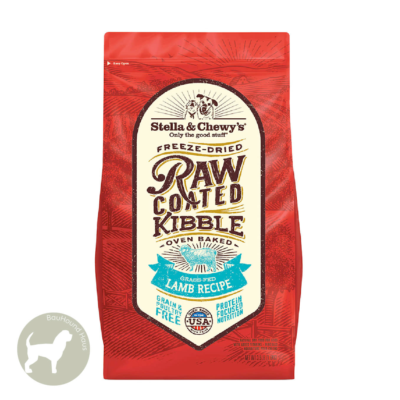 Stella & Chewy's Stella & Chewy's Freeze Dried Raw Coated Kibble Lamb Recipe 3.5lb