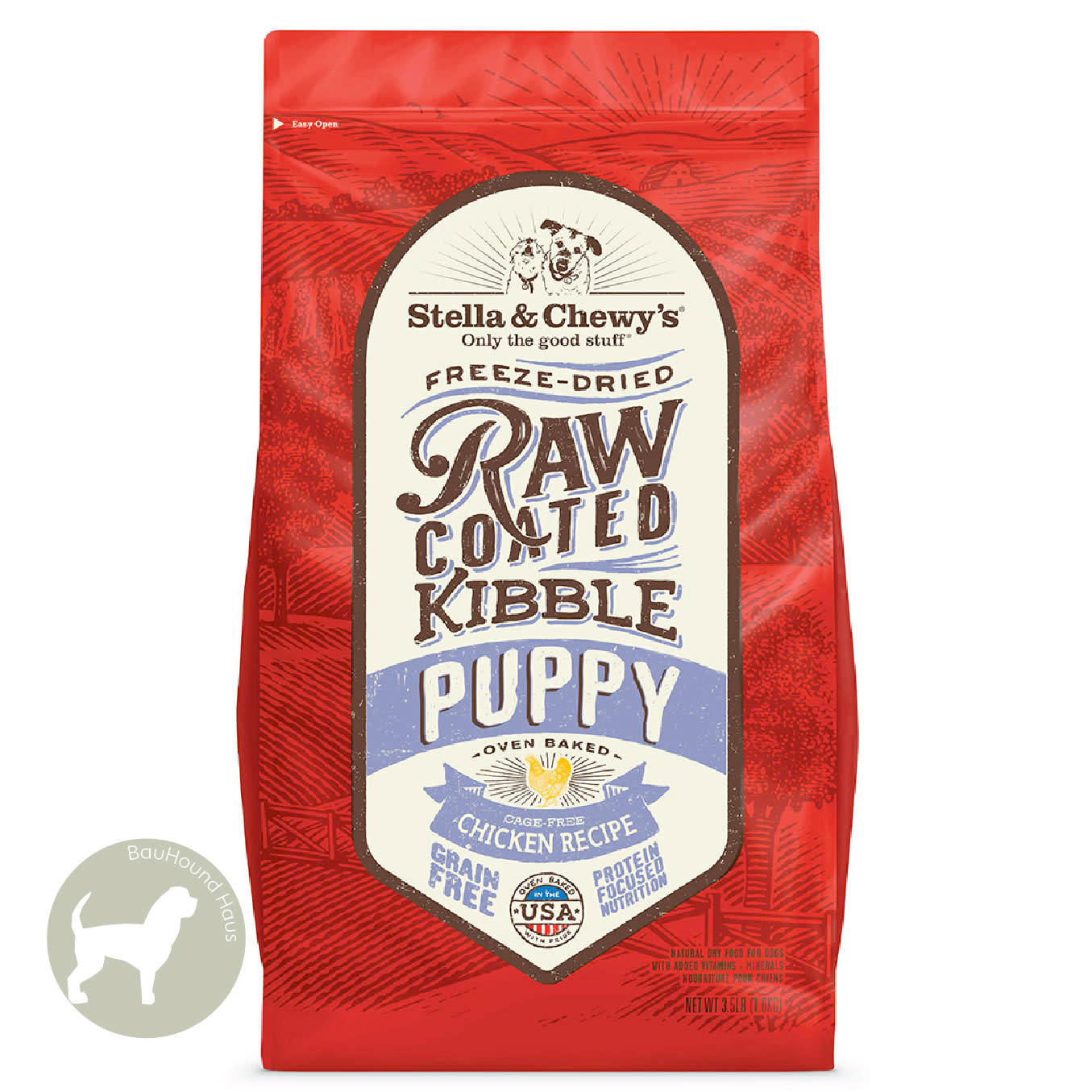 Stella & Chewy's Stella & Chewy's Freeze Dried Raw Coated Kibble PUPPY Chicken Recipe 10lb