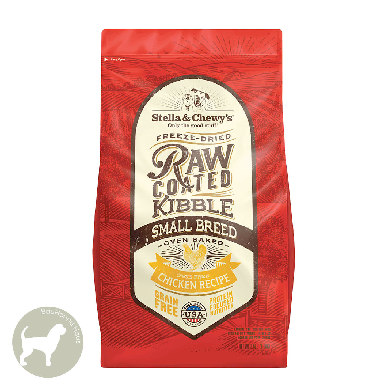 Stella & Chewy's Stella & Chewy's Freeze Dried Raw Coated Kibble SMALL BREED Red Meat  Recipe 3.5lb
