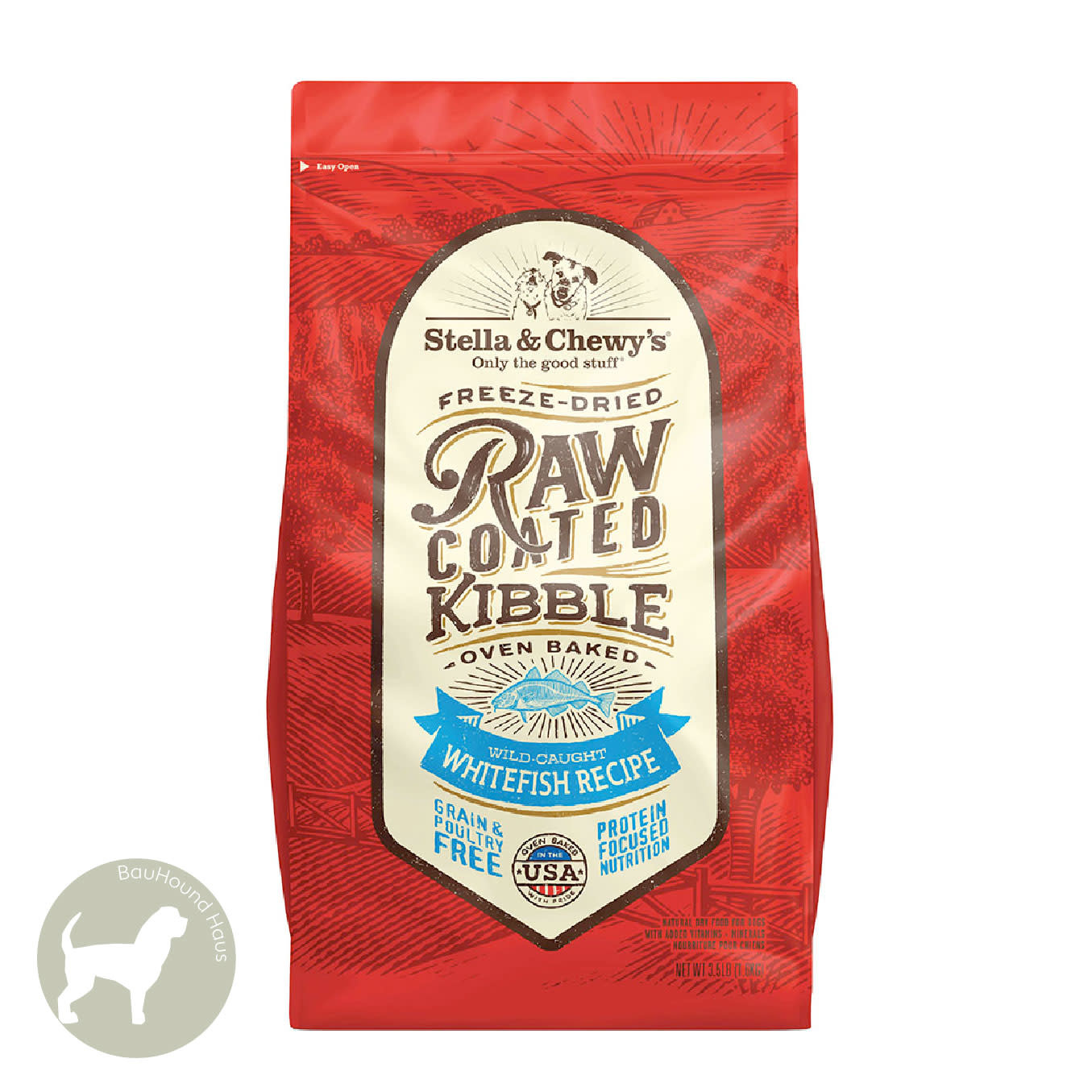 Stella & Chewy's Stella & Chewy's Freeze Dried Raw Coated Kibble Whitefish Recipe 3.5lb