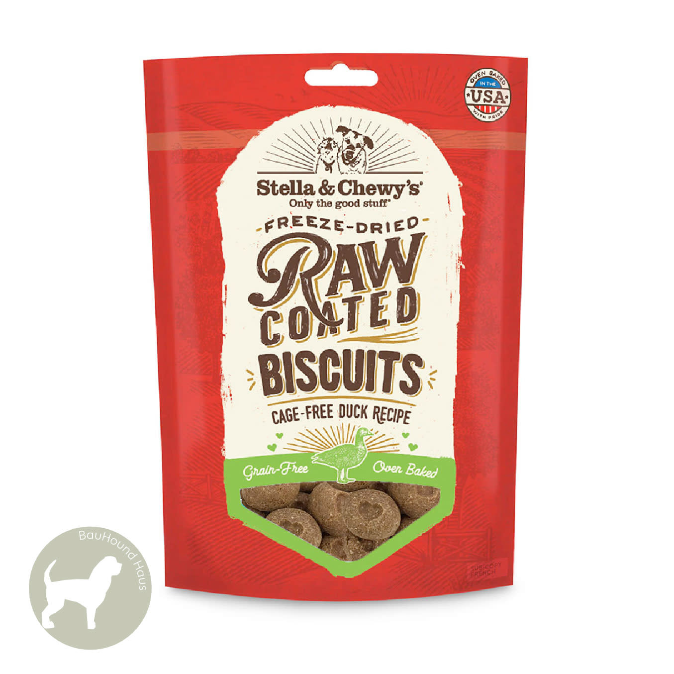 Stella & Chewy's Stella & Chewy's Raw Coated Biscuits Cage-Free Duck, 9oz