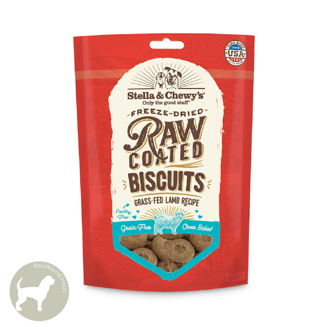 Stella & Chewy's Stella & Chewy's Raw Coated Biscuits Grass-Fed Lamb, 9oz