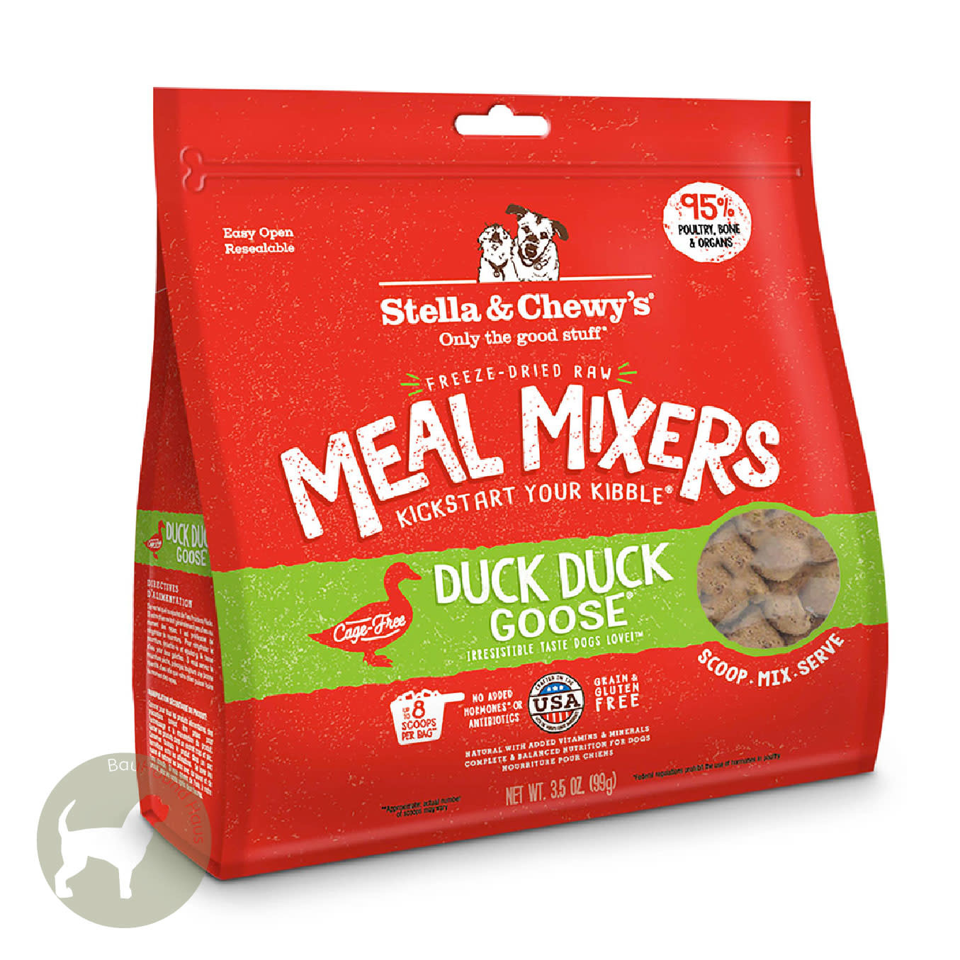 Stella & Chewy's Stella & Chewy's Meal Mixer Duck, Duck Goose, 3.5oz