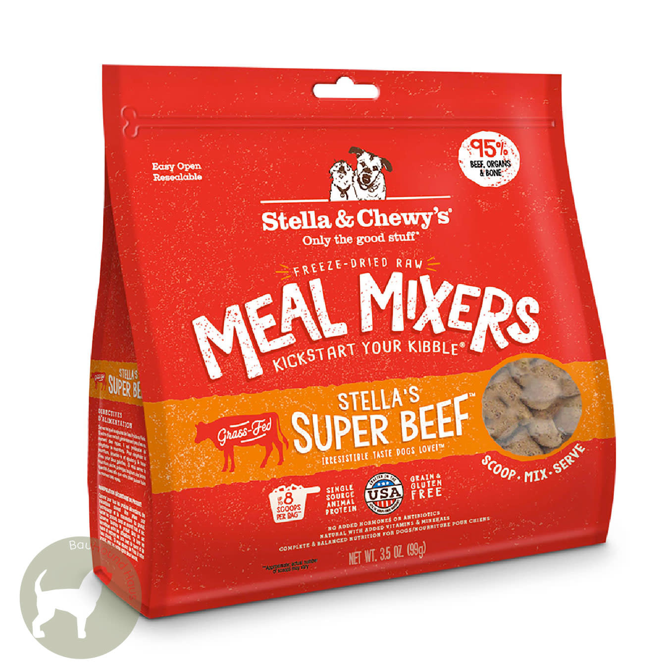 Stella & Chewy's Stella & Chewy's Meal Mixer Super Beef, 9oz