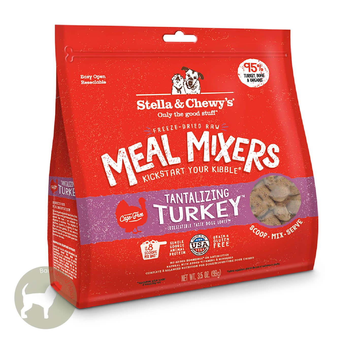 Stella & Chewy's Stella & Chewy's Meal Mixer Tantalizing Turkey, 18oz