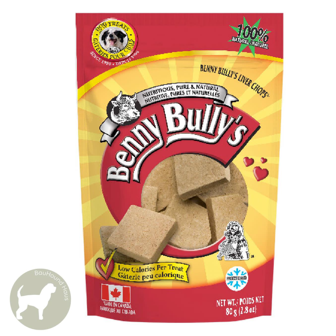 Benny Bully's Benny Bully's Beef Liver Treats, 500g