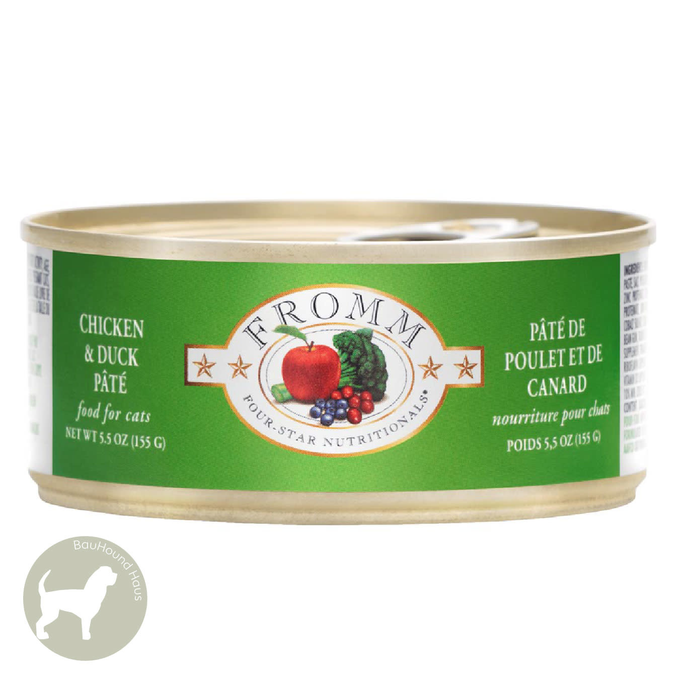 Fromm Fromm Four Star Chicken & Duck Pate Cat Can, 5oz