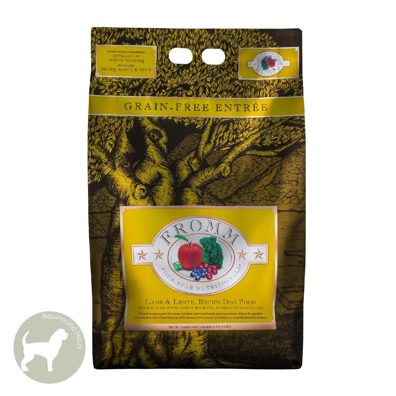 Fromm Fromm Four Star Lamb & Lentil Dog Food, 5.5kg