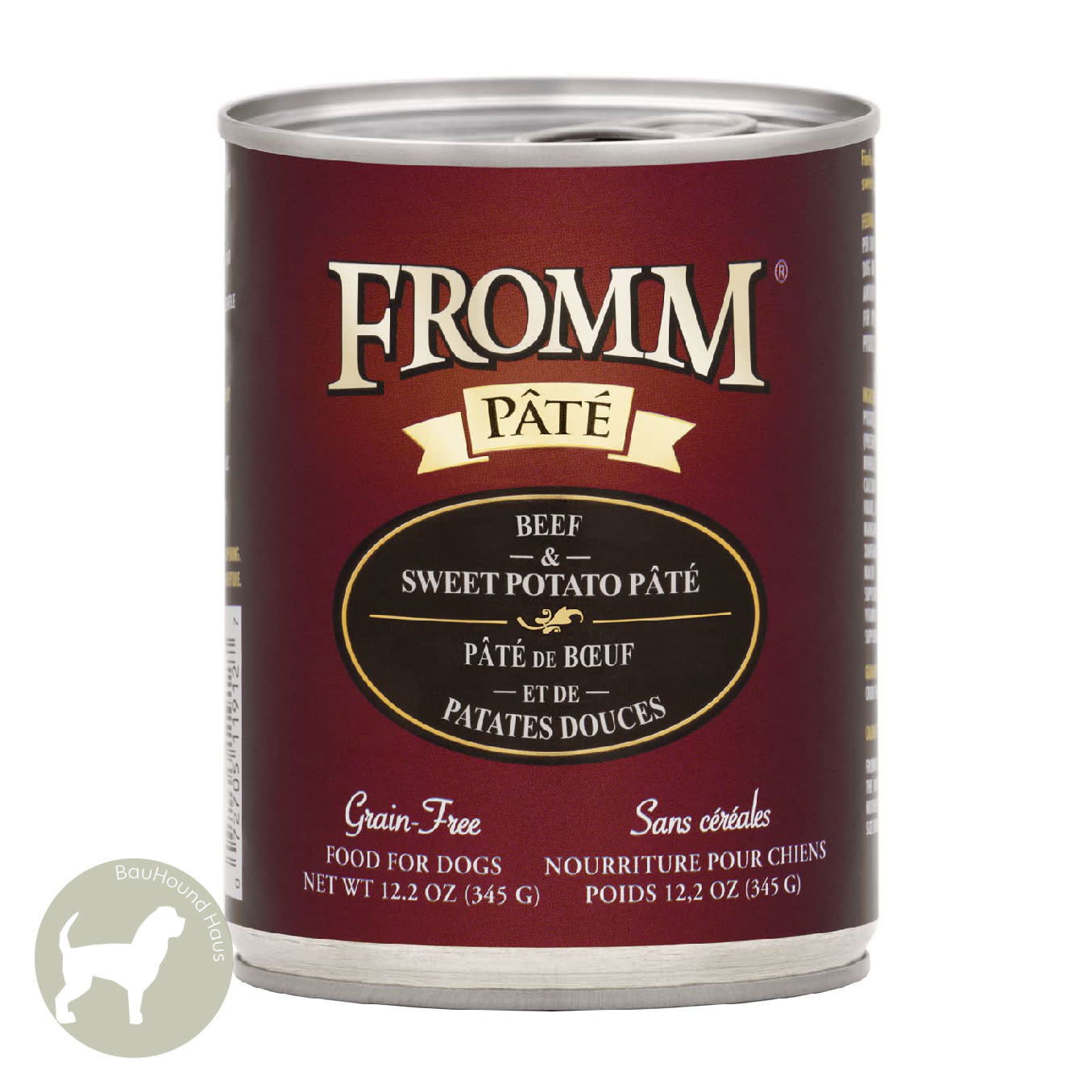 Fromm Fromm Beef & Sweet Potato Dog Can, 12.2oz
