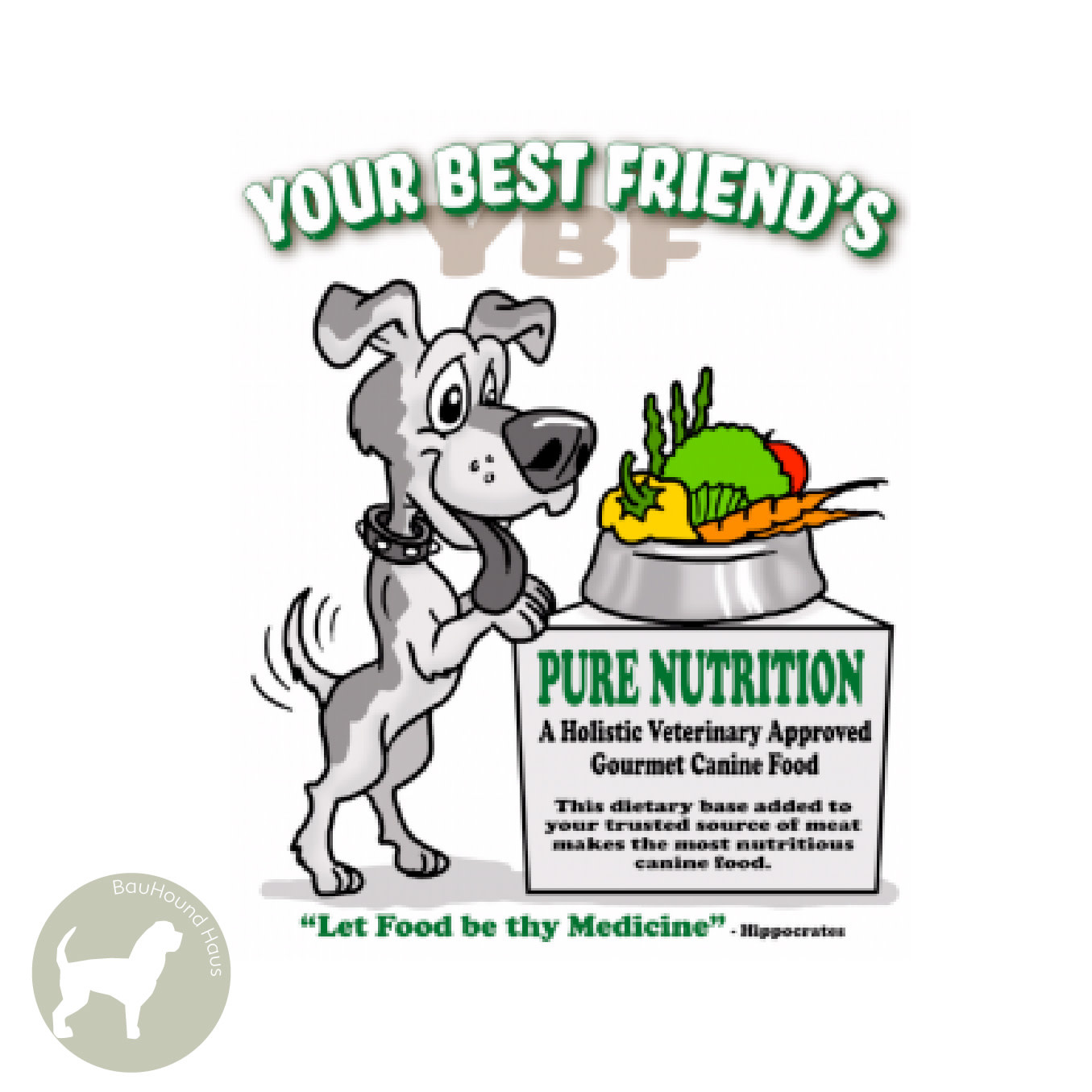 Your Best Friend Your Best Friends Pure Nutrition Base Mix, 1.2kg