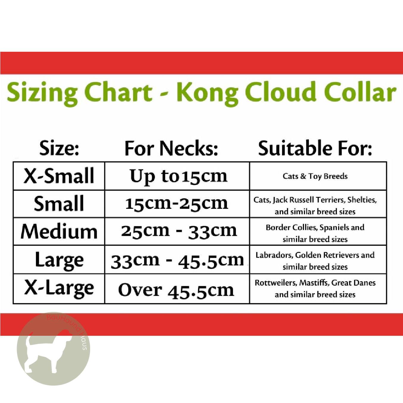 Kong Kong Cloud Inflatable Collar X-Small
