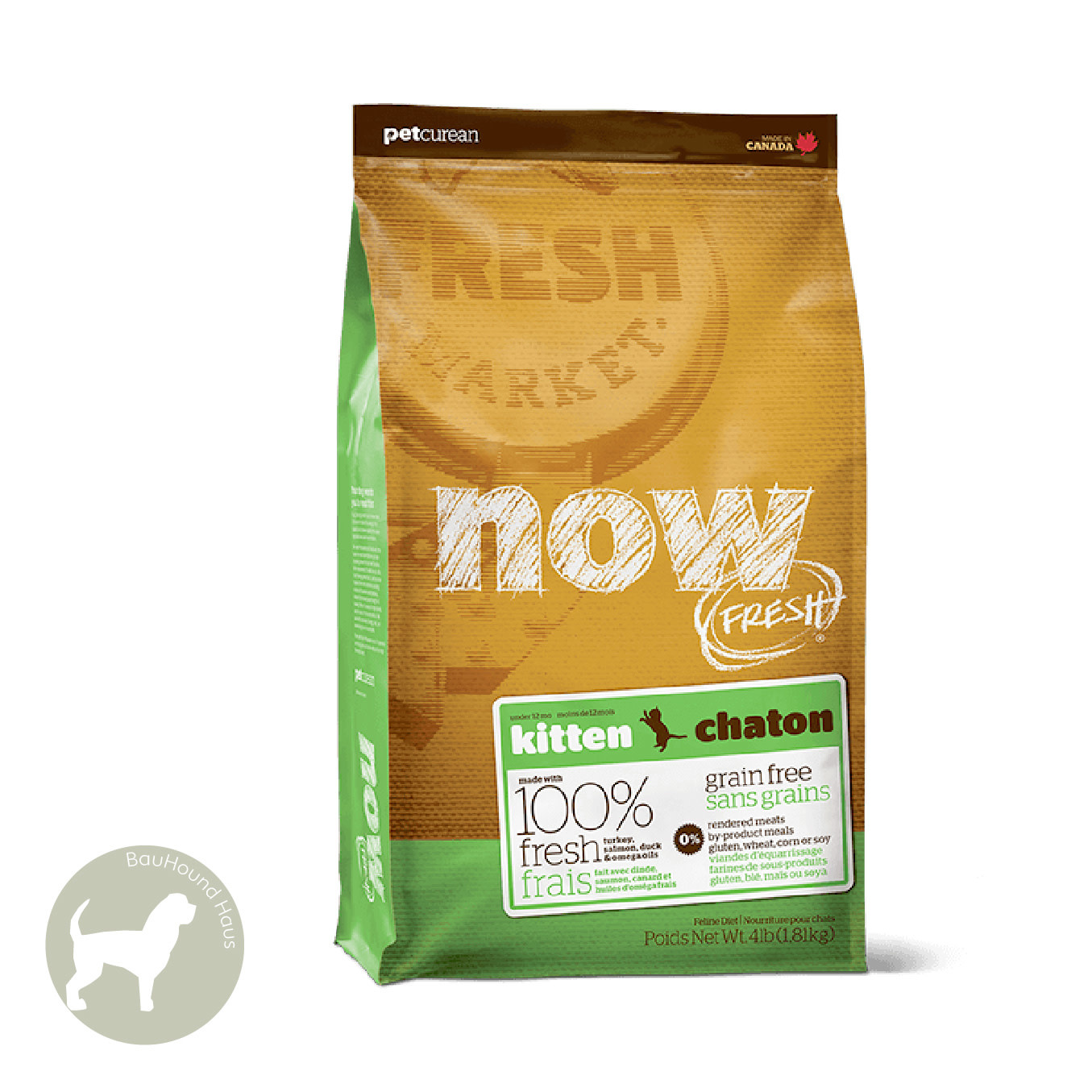 Now! Now! Fresh CAT Kitten Kibble, 4lb