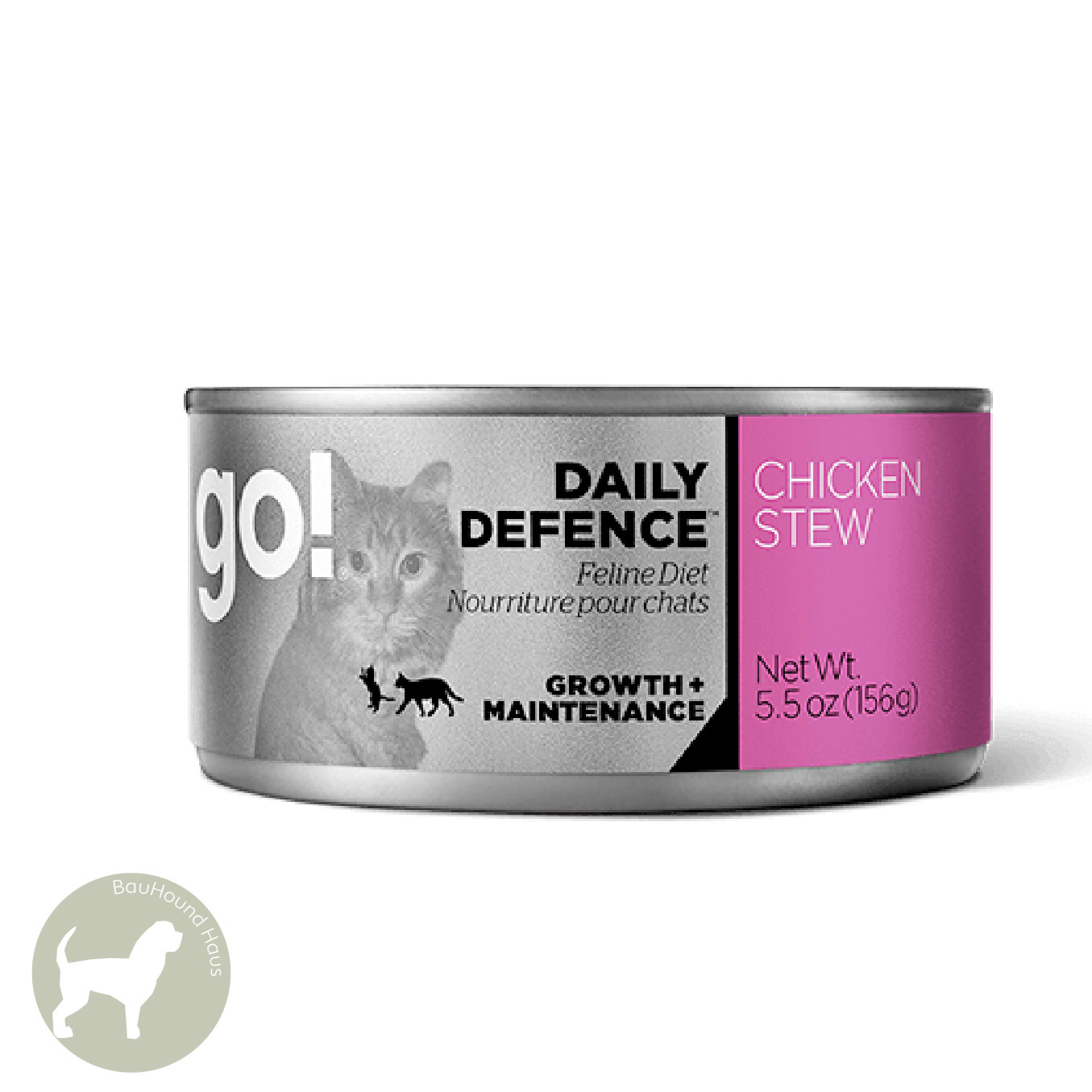 Go! Go! CAT Daily Defense Chicken Stew Can, 5.5oz