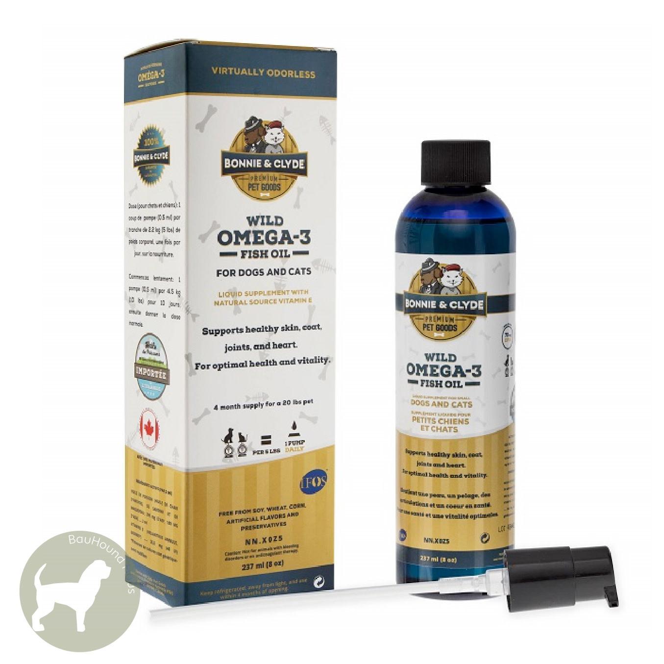 Bonnie & Clyde Bonnie & Clyde Wild Omega-3 Fish Oil, 237ml
