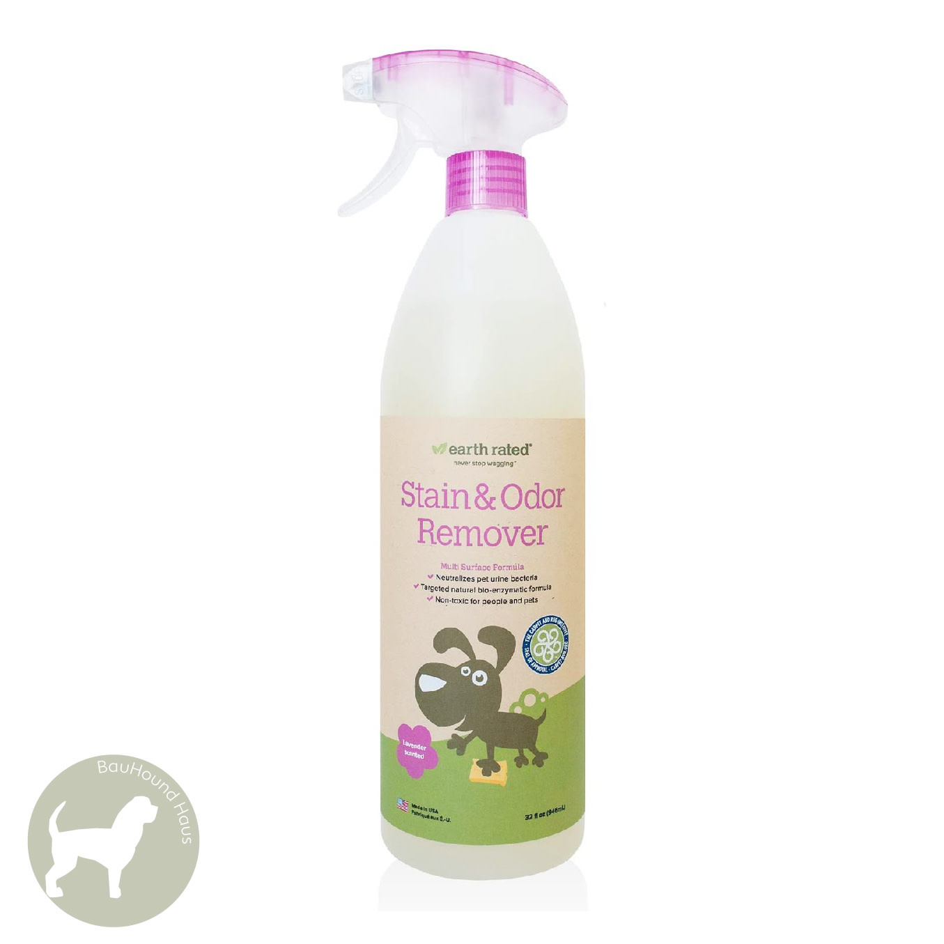 Eco Group Inc Earth rated Lavendar Scented Stain & Odour Remover