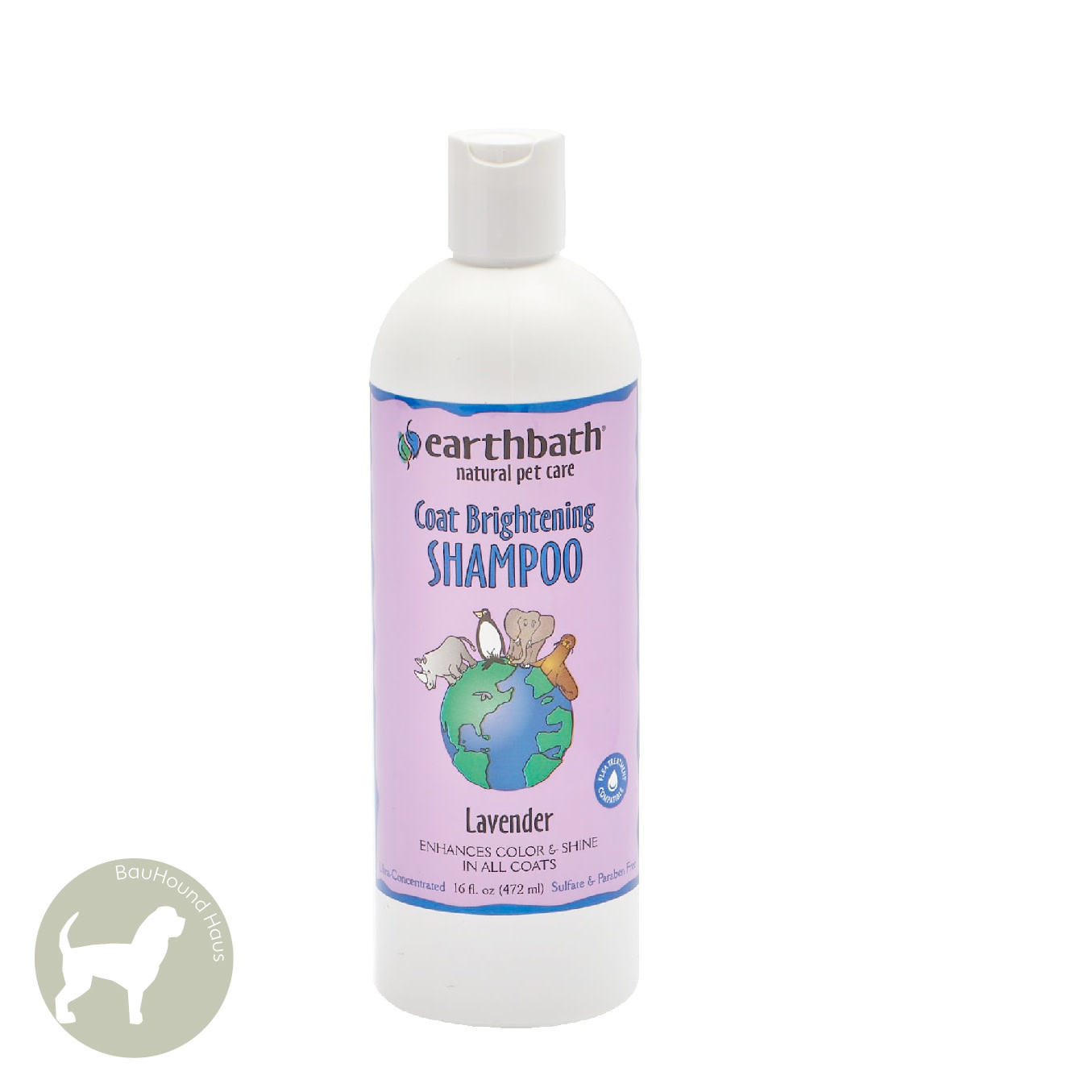 Earthbath Earthbath Light Colour Coat Brightener Shampoo, 472ml