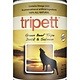 PetKind Tripett Green Beef Tripe w/ Duck & Salmon Can, 14oz