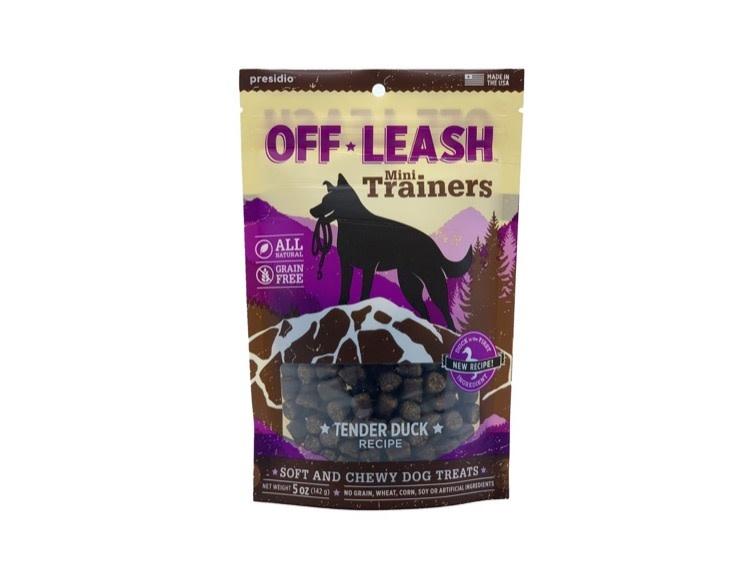 Presidio Presidio Off Leash Training Treats Tender Duck, 150g