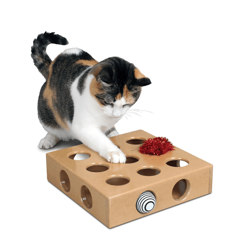 Smart Cat Smart Cat Peek-And-Play Toy Box, Small
