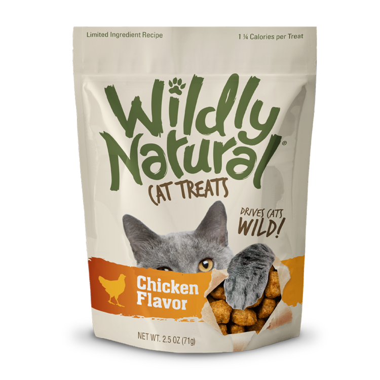 Fruitables Fruitables Wildly Natural Free Range Chicken CAT Treats, 2.5oz
