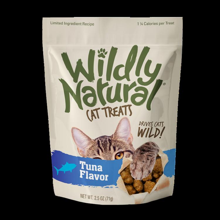 Fruitables Fruitables Wildly Natural Wild Caught Tuna CAT Treats, 2.5oz