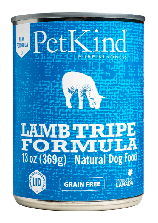 PetKind Petkind Pure Kindness Lamb, Turkey & Lamb Tripe Dog Can, 14oz