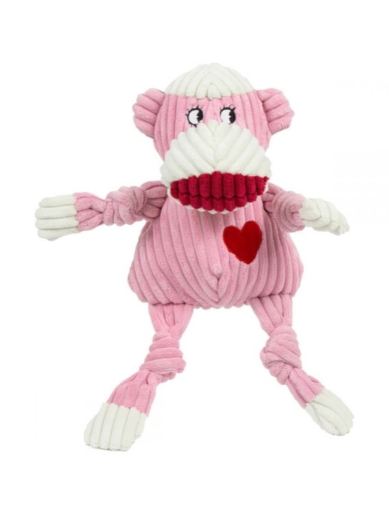 Huggle Hounds Huggle Hounds Ms. Sock Monkey Knottie, Small