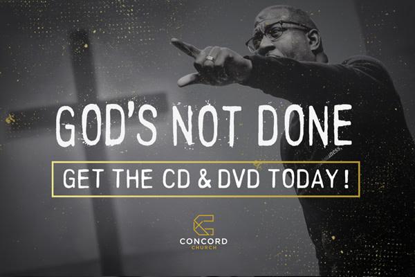 Concord SERMON DVD: REDREAMING YOUR DREAMS 1.3.21