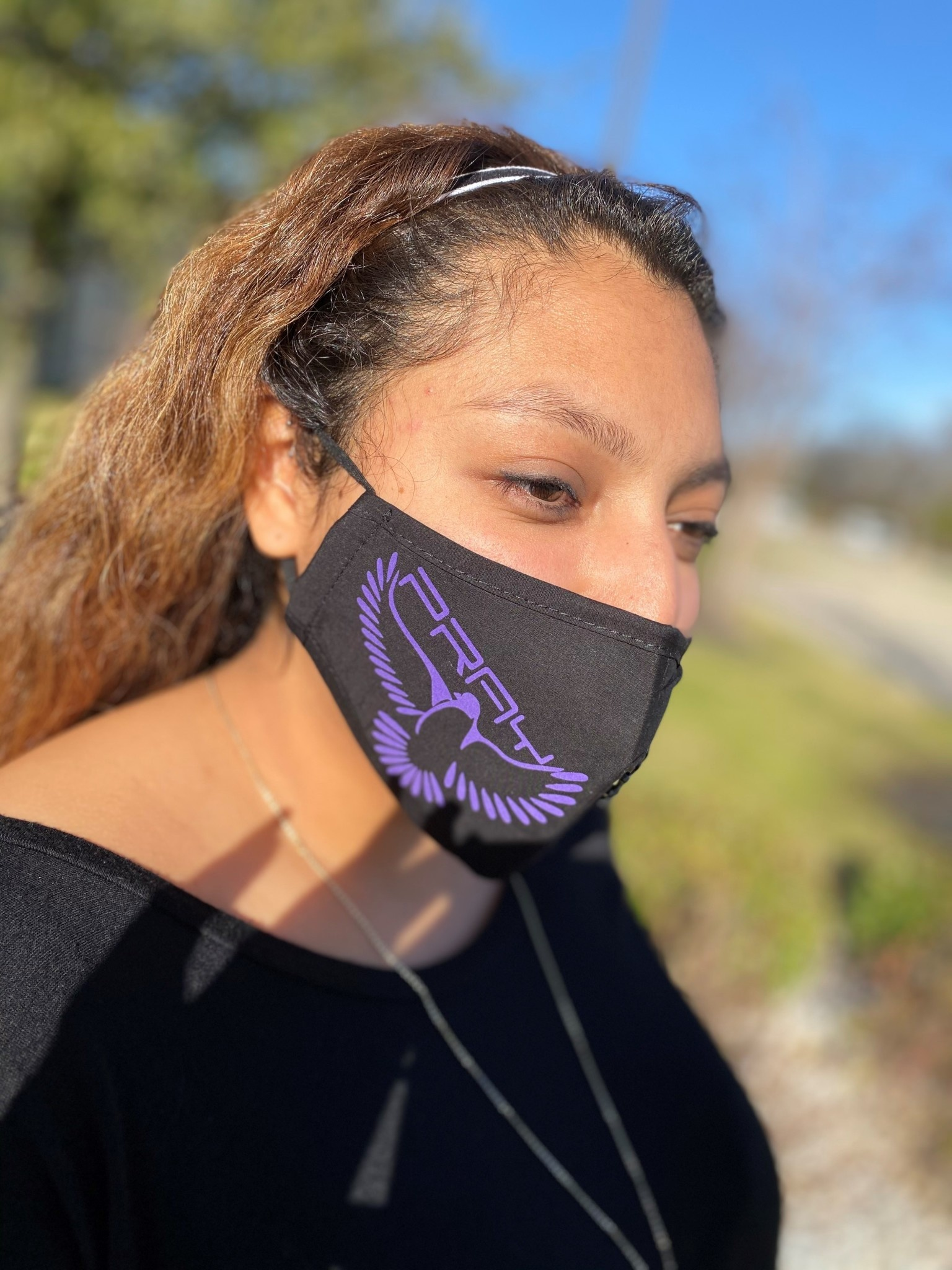Pray by Percy Ray Mask Purple