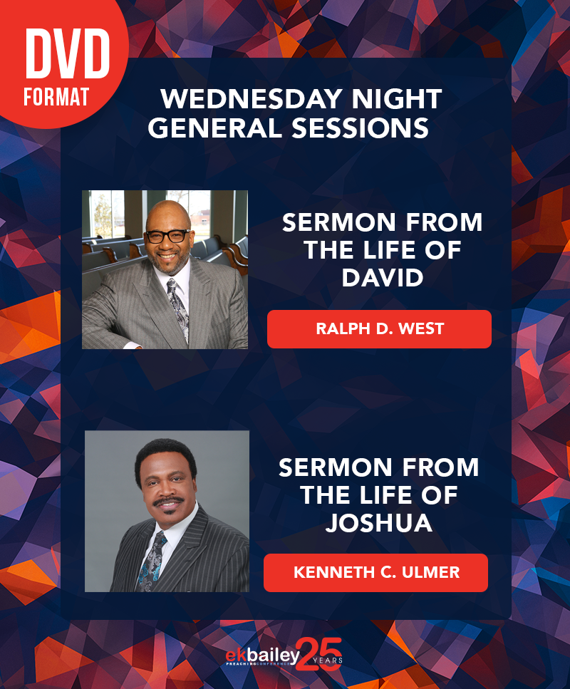 EKBPC25: Wednesday Night General Sessions - DVD (Ralph D. West and Kenneth C. Ulmer)