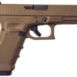 Glock G17 Gen 4 9mm Dark Earth