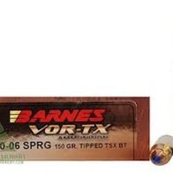 Barnes vortex 30-06 150gr