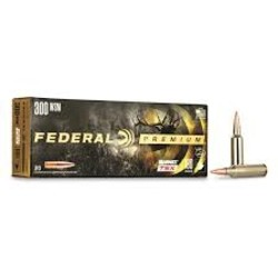 Federal Premium Barnes TSX Rifle Ammo, .300 WSM, 180 Grain, 20 Rounds
