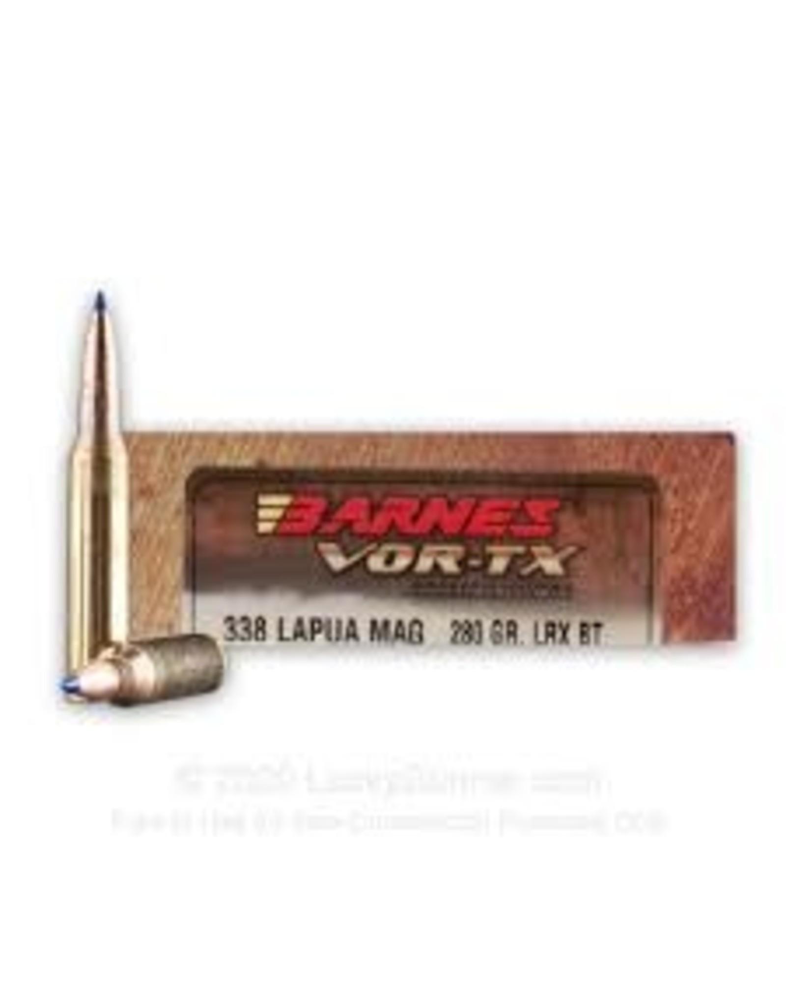 Barnes BARNES VOR-TX 338 LAPUA 280GR LRX AMMO