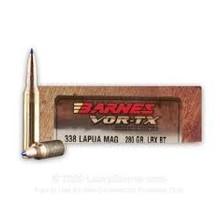 BARNES VOR-TX 338 LAPUA 280GR LRX AMMO