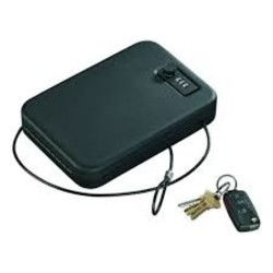 Stack-On Portable Combination Cable Secure Case With Lock