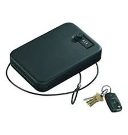 Stack-on Stack-On Portable Combination Cable Secure Case With Lock