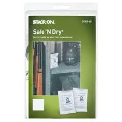 Stack-On Safe 'N Dry 4 Pack The Ultimate Moisture Elimination