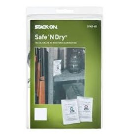 Stack-on Stack-On Safe 'N Dry 4 Pack The Ultimate Moisture Elimination