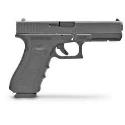 "Glock G17 Gen 4 Semi-Auto Pistol 9mm 4.49"" Barrel"