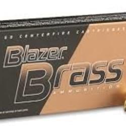 CCI Blazer Centerfire Pistol Ammo 40 S&W 180gr FMJ
