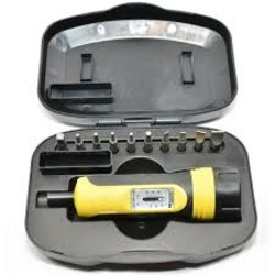 Wheeler Engineering Fat Wrench With Bit Set
